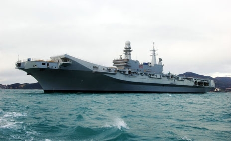 Giro a bordo della cavour 4 navi in una di giorgio - Cavour portaerei ...