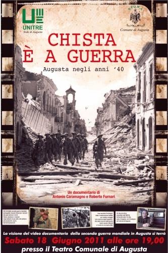 storia,guerra,cortometraggio,augusta,chista è a guerra