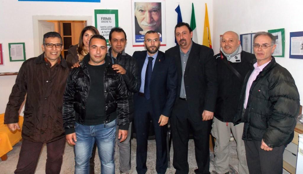 Foto 1 Inaugurazione foto di gruppo