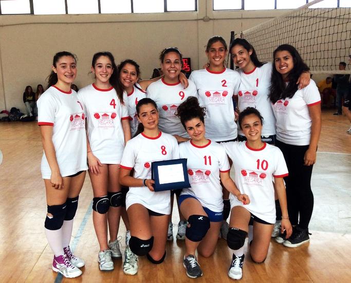 Squadra pallavolo femminile 2015