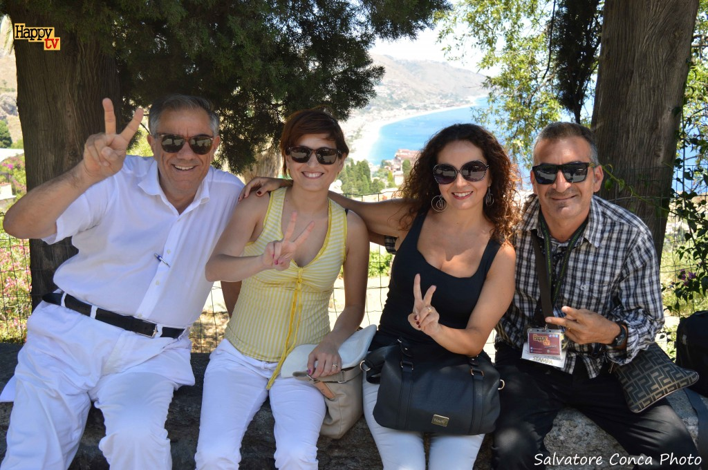 ME STESSO  con Mari, Deborah, Max a Tao 27 06 2015  Nastri df'Argento