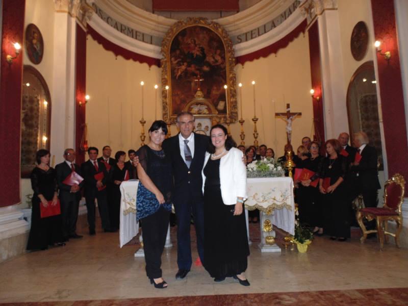 me stesso con Rosy Messina e Marcella Spanò