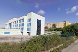ospedale muscatello. nuovo padiglione in l p., vecchio padiglione in II
