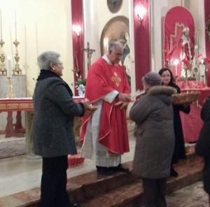 San Biagio benedizione gola