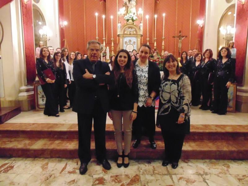 me stesso al Carmine il 21 maggio 2016 con Martina Di Gaetano, Marcella Spanò, Mariagrazia Morello