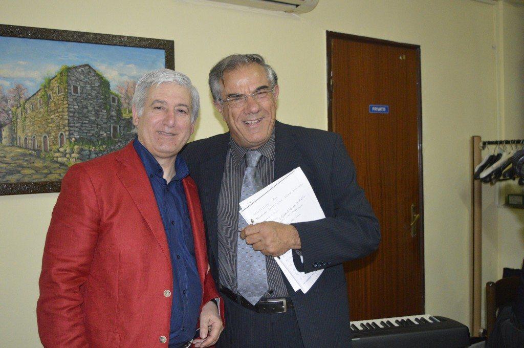 me stesso con Aldo Bizzarro il 22 maggio 2016