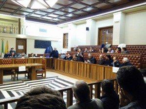 Consiglio comunale  veduta maggioranza