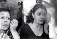 Cristina Carpinteri e sorella
