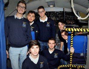 Studenti sull'Atlantic