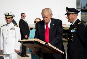 Firma albo d'onore Presidente USA