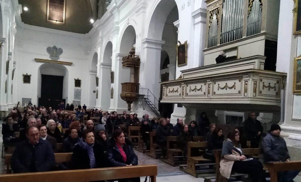 CONCERTO IN CHIESA MADRE DI GIUSEPPE DI MARE E SALVO TEMPIO, IN MEMORIA DELLE VITTIME DI CANCRO