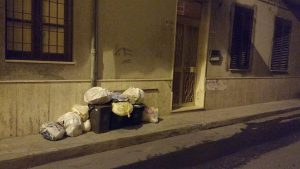Rifiuti in V Catania